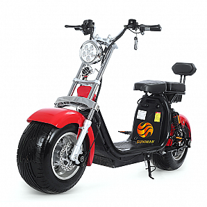 60v 800w-1000w Fat Tire Electric Bike/Citycoco/Wolf Fat Tire E-Scooter