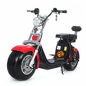 60v 800w-1000w Fat Tire Electric Bike/Citycoco/Wolf Fat Tire E-Scooter