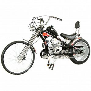 Sunway 2-Stroke 50 60 80CC Gas Engine Bike Chopper Scooter