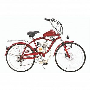 Sunway 26inch 2-Stroke 50 60 80CC Gas Engine Bicycle,Beach bicycle