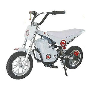Sunway White 11km/h Low Speed Mini Bike for Kids 250w Classic