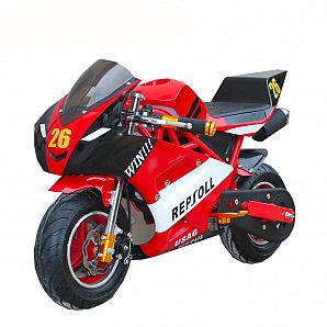 Sunway 49cc 50cc Easy Pull Start Fashion Cheap Gas Powered Pocket Bike Pit Bike